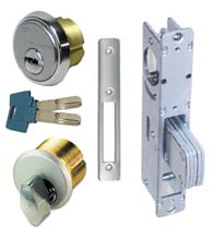 High Security Storefront Door Mortise Deadbolt Lock Sets, Mul-T-Lock Cylinders, TH1101-PM