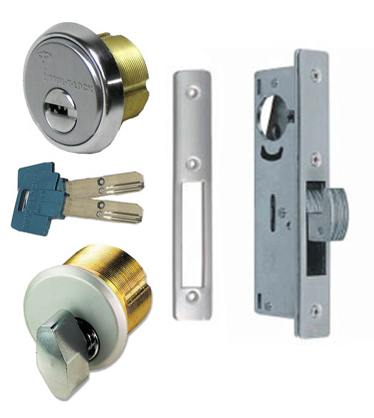 Sliding Store Front Door High Security Mortise Hookbolt Lockset Mul