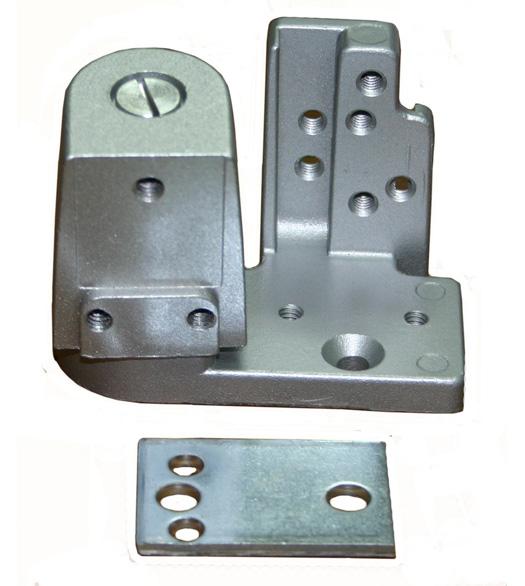 Aluminum Door Pivots : Kawneer style bottom offset door pivots th b