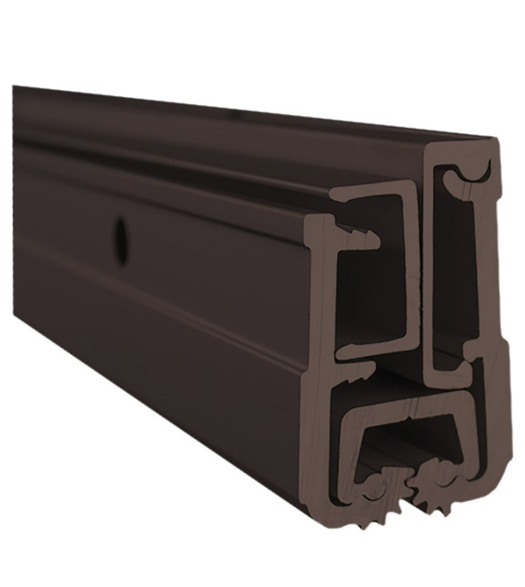 Continuous Hinge for Narrow Door Frame