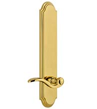 Arc Tall Plate with Bellagio Lever, Grandeur ARCBEL19