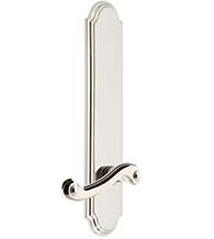 Newport Lever with Arc Escutcheon, Grandeur ARCNEW19
