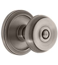 Bouton Knob with Circulaire Rose, Grandeur CIRBOU
