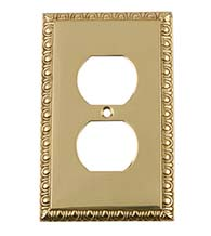 Egg and Dart Outlet Plate, Grandeur EADSWPLTD