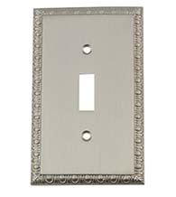 Egg and Dart Toggle Light Switch Plate, Grandeur EADSWPLTT1
