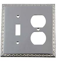 Egg and Dart Outlet and Toggle Switch Plate Cover, Grandeur EADSWPLTTD