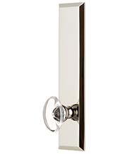 Provence Crystal Knob with Fifth Avenue Tall Plate, Grandeur FAVPRO19