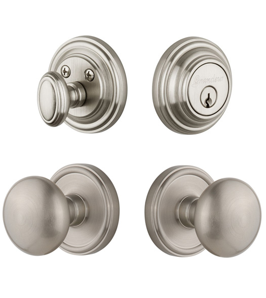 Fifth Avenue Knob With Georgetown Rose