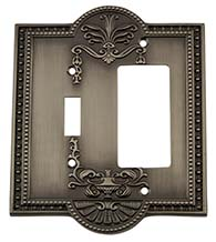 Meadows Rocker and Toggle Light Switch Cover, Grandeur MEASWPLTTR