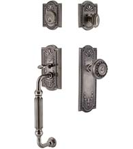 Parthenon F Grip Decorative Handleset, Grandeur PARFGR