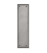 Contemporary New York Solid Brass Push Plate, Grandeur PSHNYK