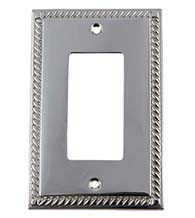 Rope Rocker Switch Plate, Grandeur ROPSWPLTR1