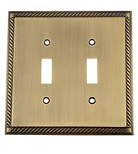 Rope Double Toggle Plate, Grandeur ROPSWPLTT2