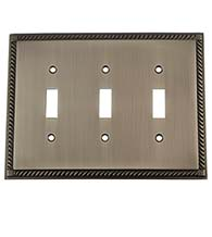 Rope Triple Toggle Plate, Grandeur ROPSWPLTT3