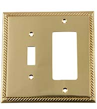 Rope Toggle and Rocker Light Switch Plate, Grandeur ROPSWPLTTR