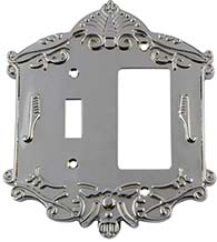 Victorian Rocker and Toggle Switch Plate, Grandeur VICSWPLTTR