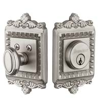 Windsor Decorative Deadbolt, Grandeur WINWIN-DB