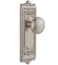 Fifth Avenue Knob With Windsor Plate, Grandeur WINFAV