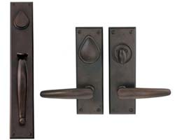 Hamilton Solid Bronze Handlesets and Entry Sets