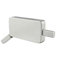 ADA Compliant Surface Mounted Privacy Lock for Barn Doors, INOX BD1023