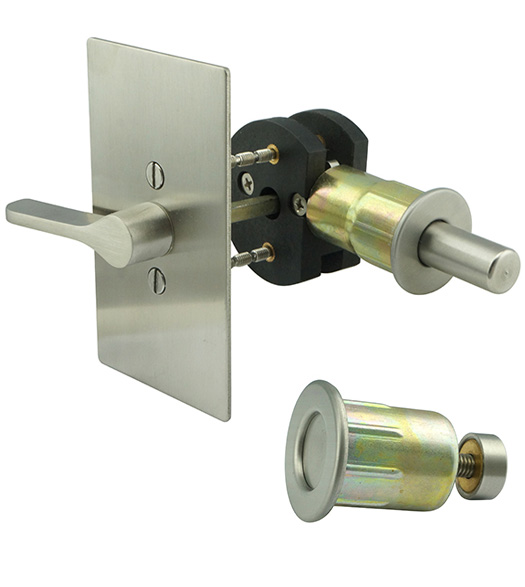 INOX EC1517 ADA Privacy Lock for Barn Doors