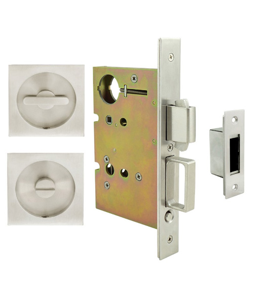 Square Urban Pocket Door Privacy Set
