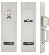 Linear Pocket Door Keyed Entry, INOX FH27PD8450