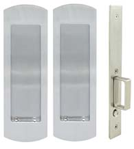 Arc Pocket Door Passage Set, INOX FH29PD8010