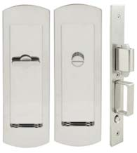Arc Pocket Door Privacy Set, INOX FH29PD8440
