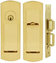 Arc Pocket Door Keyed Entry, INOX FH29PD8450
