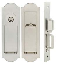 Regal Pocket Door Keyed Entry, INOX FH31PD8450