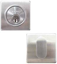 Wrought Stainless Steel Single Cylinder Deadbolt, INOX LD310B
