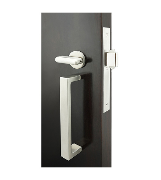 Rectangle Pull Privacy Lock for Sliding Doors