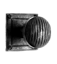 Square and Circle Door Knob Set, Acorn IWCBI