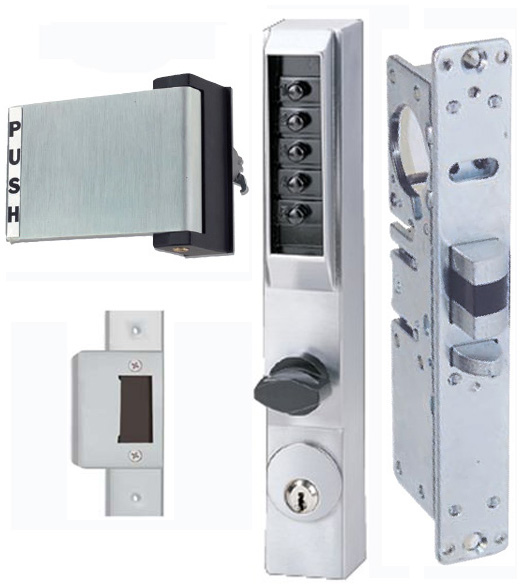 Storefront Door Mortise Deadlatch Keypad Lock Sets, KABA ...