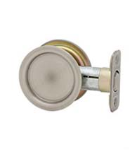 Round Pocket Door Passage Set, Kwikset 334