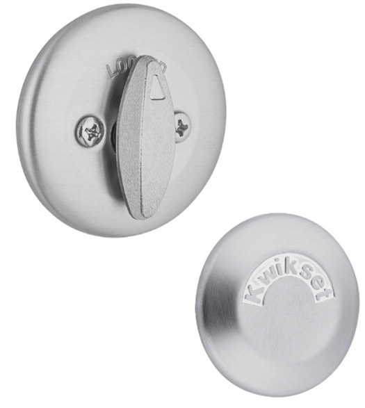 One-Sided Deadbolt With Exterior Trim