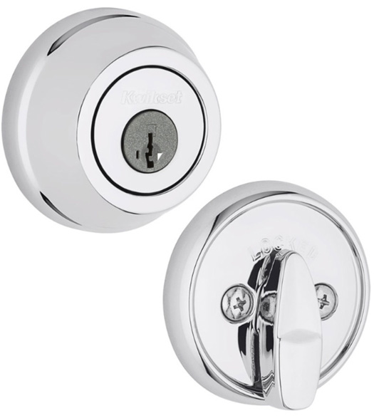 Single Cylinder Kwikset Grade 2 Deadbolt