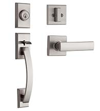 Tavaris Single Cylinder Handleset, Kwikset 800TVH