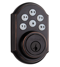 Smart Code Keyless Touch Pad Lock, Kwikset 909