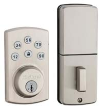 Smart Code Keyless Touch Pad Lock, Kwikset 9907