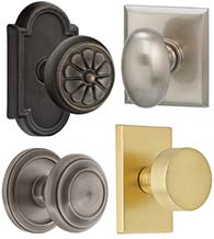 Simple Classic Door Knobs