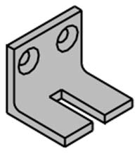 Cush Shoe Support for LCN 1460 Series Door Closers, LCN 1460-30