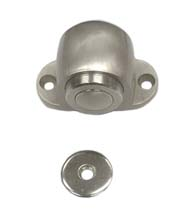 Satin Nickel Magnetic Dome Door Stop, Prime Hardware MDS114U15