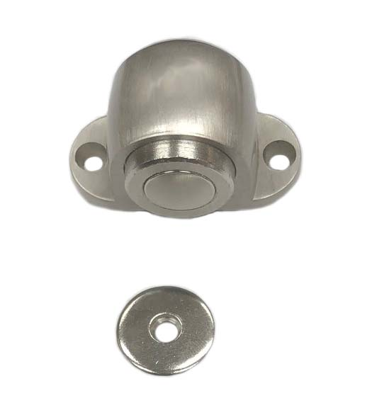 Satin Nickel Magnetic Dome Door Stops
