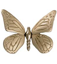 Nickel Silver Butterfly Door Knocker, Michael Healy MH1003