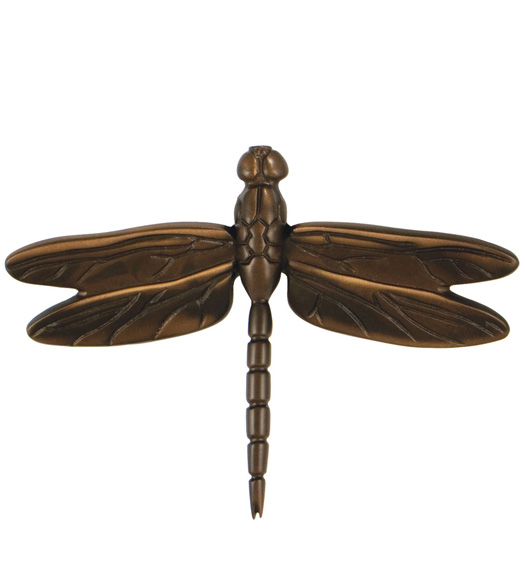 Oiled Bronze Dragonfly Door Knocker