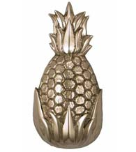 Large Nickel Silver Palm Springs Pineapple Door Knocker, Michael Healy MH1503