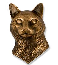 Cat Door Knocker, Micheal Healy MHCCAT01