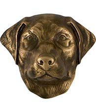 Labrador Retriever Door Knocker, Micheal Healy MHCDOG01